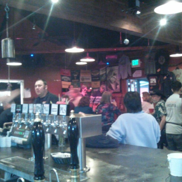 Photo taken at Lagunitas Brewing Company by Tina B. on 3/13/2014