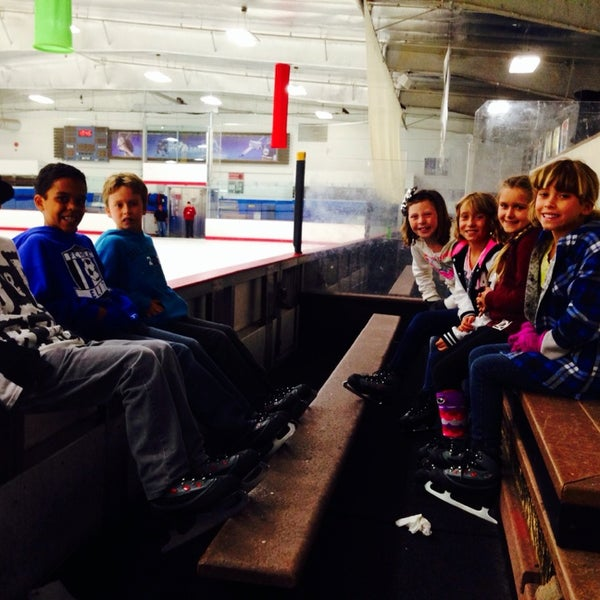 Photo taken at San Diego Ice Arena by Melissa W. on 5/16/2014