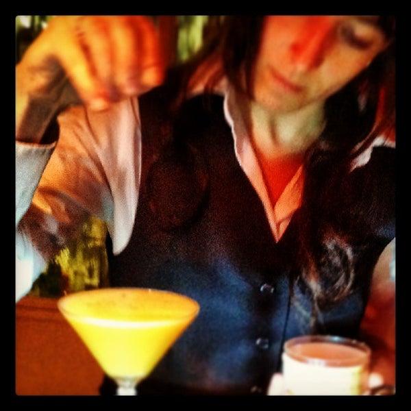 Photo taken at Slow Barcelona Cocktails & Boîte by Moira L. on 6/5/2013