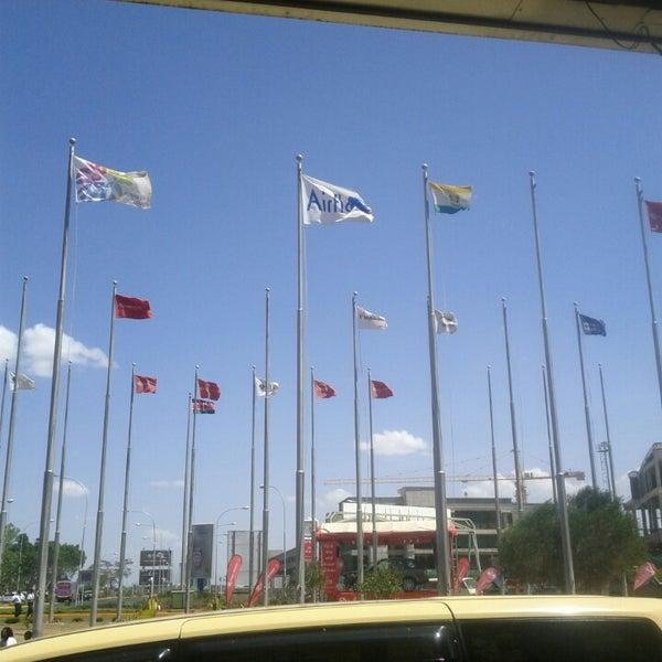 Photo taken at Jomo Kenyatta International Airport (NBO) by Korir K. on 3/2/2013