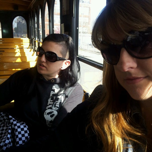 Photo taken at Old Town Trolley Tour by Allison B. on 5/5/2013