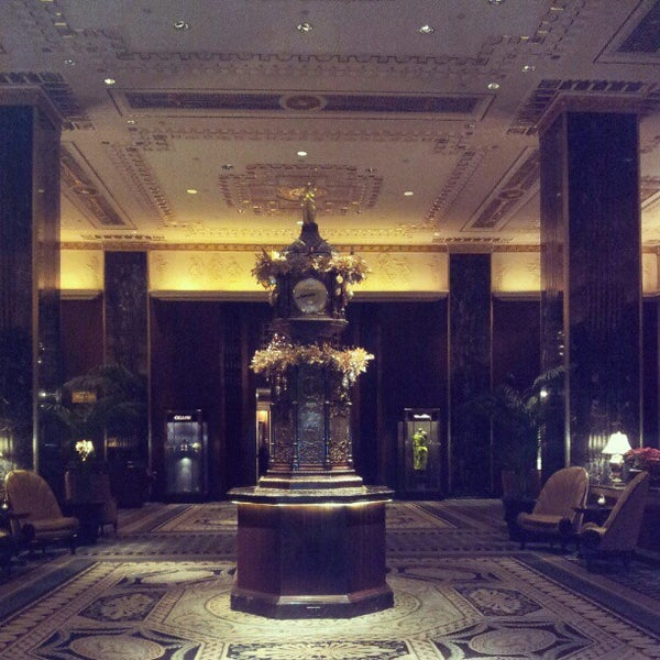 Photo taken at Waldorf Astoria New York by Husain A. on 12/12/2012