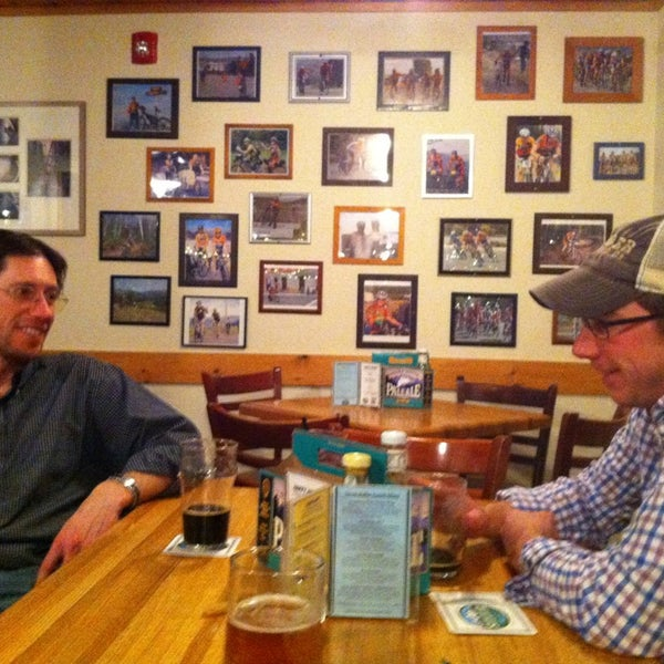Photo taken at Snake River Brewery & Restaurant by Kate F. on 3/8/2013