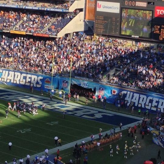 Photo taken at Qualcomm Stadium by Lisa on 12/3/2012