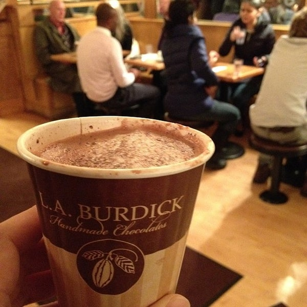Photo taken at L.A. Burdick Chocolate by suke on 2/14/2013