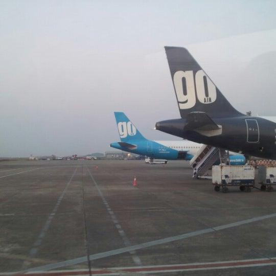 Photo taken at Dabolim Goa International Airport (GOI) by Amruta G. on 11/16/2012