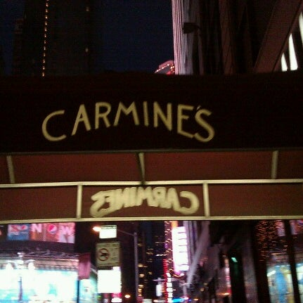 Carmine 39 s theater district 414 tips for Carmines nyc