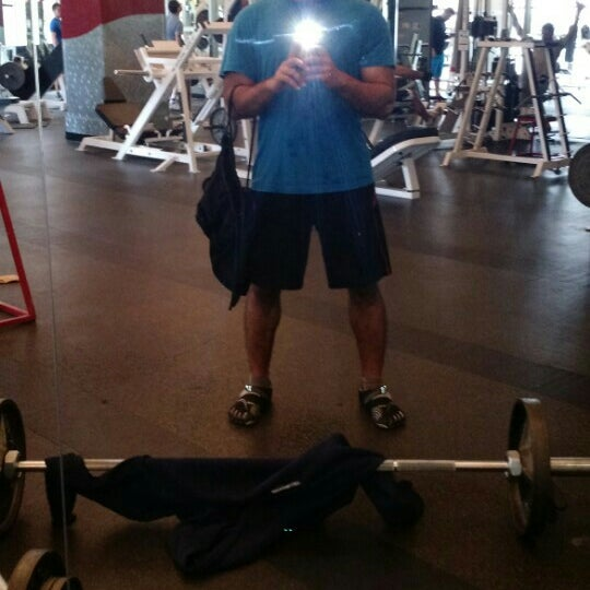 Photo taken at 24 Hour Fitness by Vaibhav M. on 5/23/2015