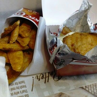 Photo taken at KFC by Kyriako T. on 12/22/2012