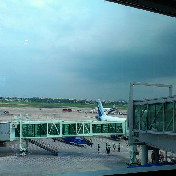 Photo taken at Netaji Subhash Chandra Bose International Airport (CCU) by Gaurab D. on 6/28/2013