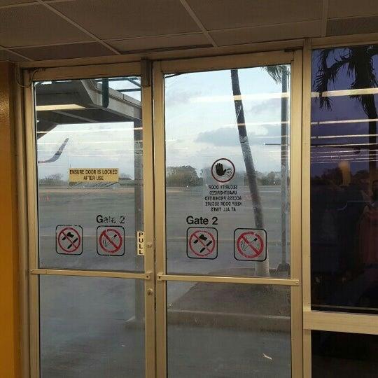 Photo taken at A.N.R. Robinson International Airport (TAB) by Stefan K. on 3/28/2016