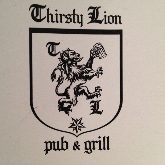 Photo taken at Thirsty Lion Pub & Grill by John N. on 10/27/2011