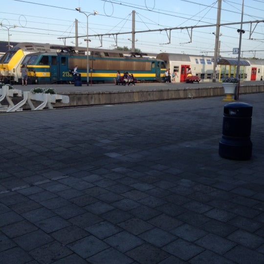 Photo taken at Station Blankenberge by Kristof D. on 8/12/2012