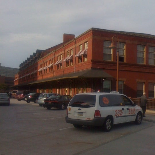 A beautiful historic railroad station in the heart of a capital city.