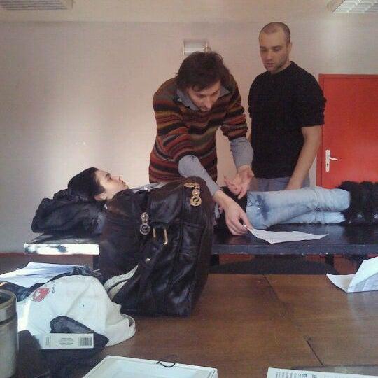"""Photo taken at Театрална работилница """"Сфумато"""" by Yavor K. on 1/18/2012"""