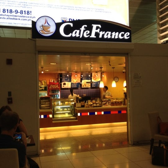 Photo taken at Cafe France by Leigh Aldrich V. on 5/11/2012