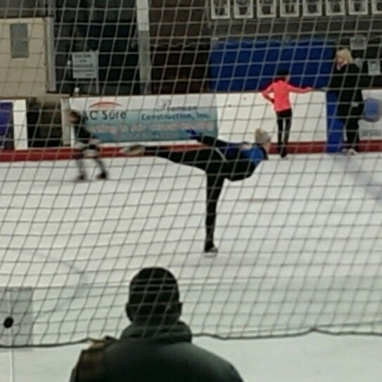 Photo taken at San Diego Ice Arena by Lisa K. on 1/9/2015