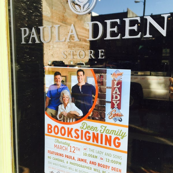 Photo taken at The Paula Deen Store by Trevor A. on 2/14/2015