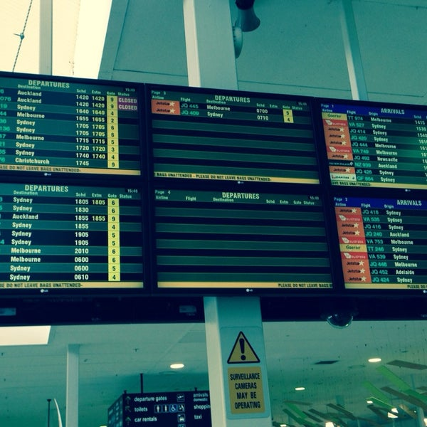 Photo taken at Gold Coast Airport (OOL) by J.Z on 3/8/2014