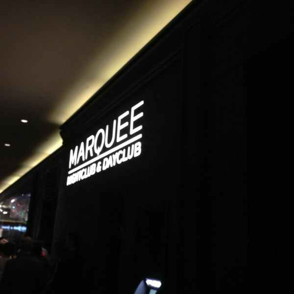 Photo taken at Marquee Nightclub & Dayclub by Kibbee on 3/9/2013