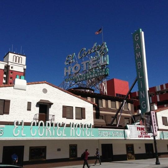 Photo taken at El Cortez Hotel & Casino by Troy K. on 10/18/2012