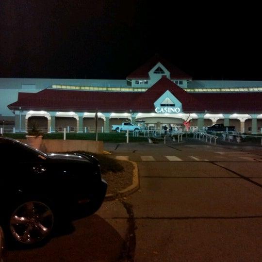 Photo taken at Prairie Meadows by Simon S. on 10/28/2012