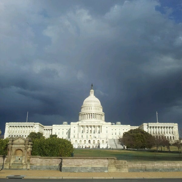 Photo taken at Rotunda of the U.S. Capitol by Anna M. on 3/19/2013
