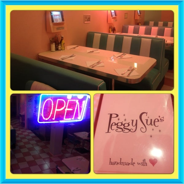 Photo taken at Peggy Sue's by Joanna on 2/28/2014