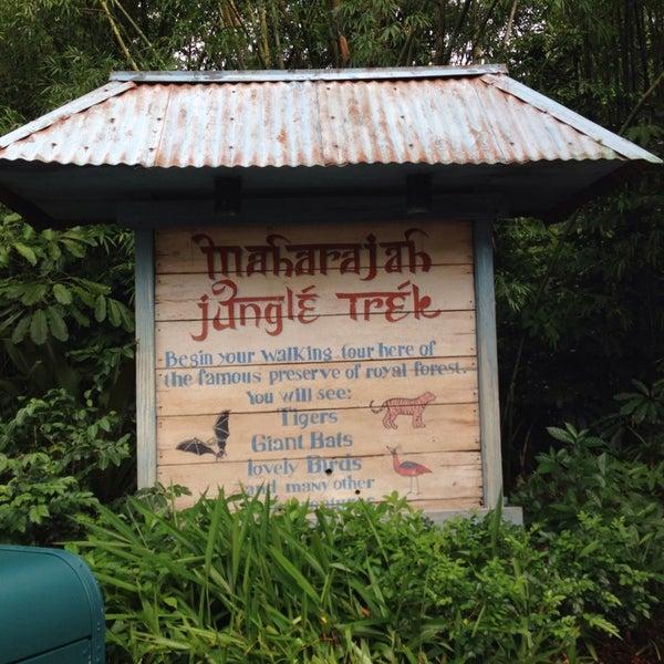 Photo taken at Maharajah Jungle Trek by Bob D. on 8/15/2014