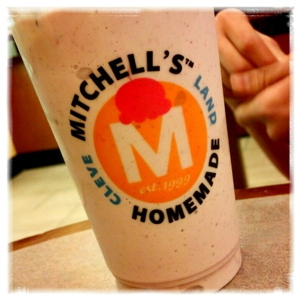 Photo taken at Mitchell's Ice Cream by Erika D. on 2/18/2013