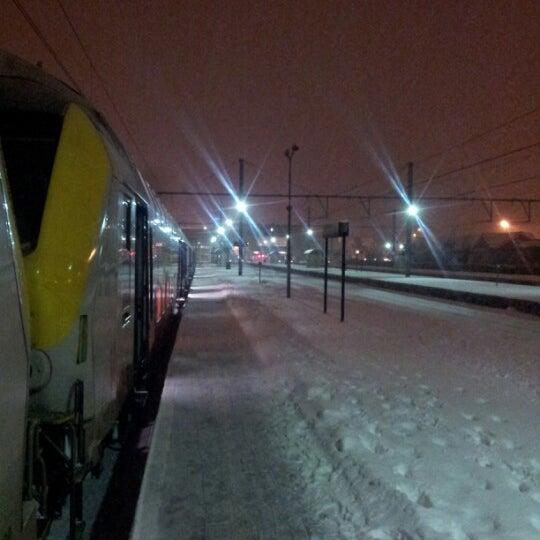 Photo taken at Station Blankenberge by Kristof K. on 1/20/2013