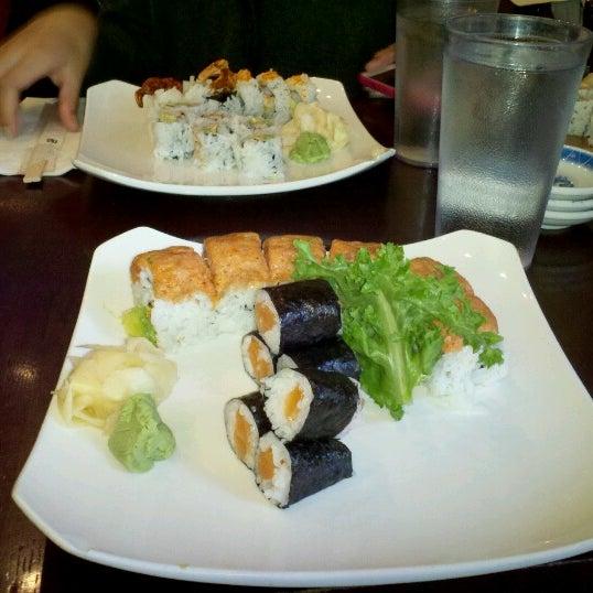 Photo taken at Sushi Lounge by Lisa L. on 10/27/2012