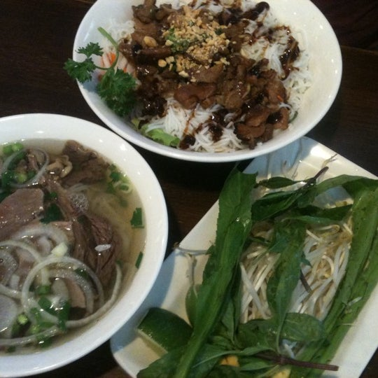 Photo taken at Bowl of Pho by Cris J. on 4/20/2013