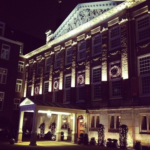 Photo taken at Sofitel Legend The Grand Amsterdam by Anton M. on 12/13/2012