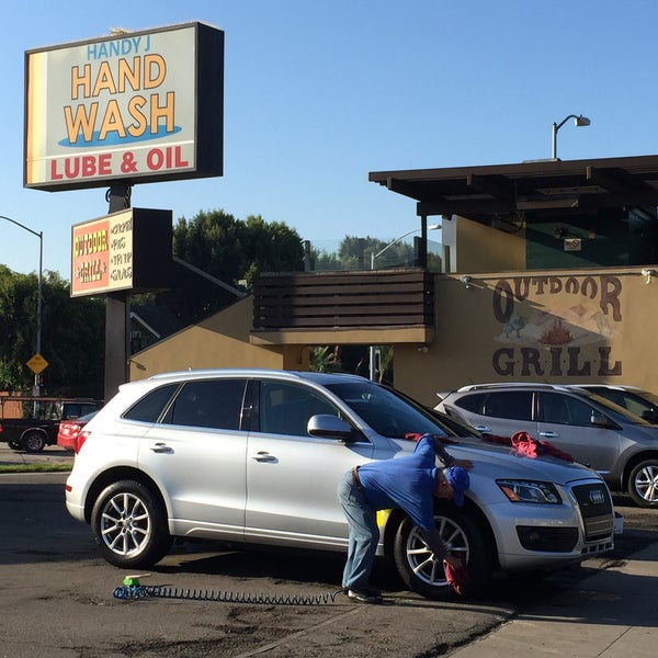 Photo taken at Handy J Car Wash by Toby P. on 1/3/2015