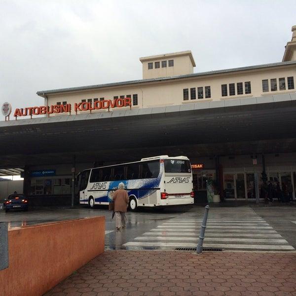 Photo taken at Autobusni Kolodvor Dubrovnik   Dubrovnik Bus Station by Anne D. on 1/2/2014