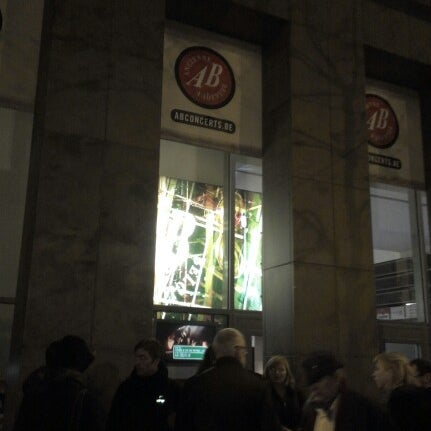 Photo taken at AB Ancienne Belgique by Romain H. on 11/9/2012