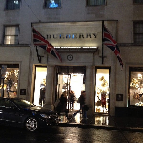 Photo taken at Burberry by R. Murat S. on 12/20/2012