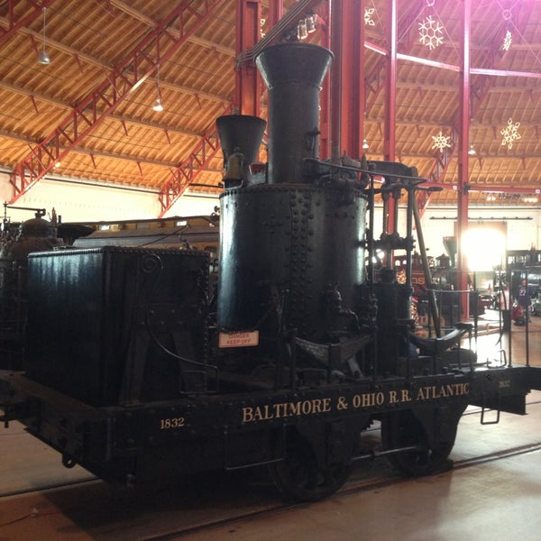 Photo taken at B & O Railroad Museum by Jim R. on 12/23/2012