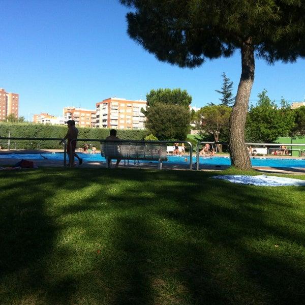 piscina del polideportivo municipal de hortaleza pinar