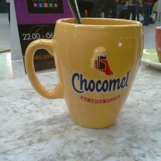 Photo taken at Grand Café Plaza by Janneke H. on 9/29/2012