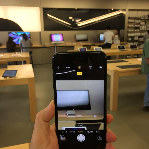 Photo taken at Apple Friendly Center by Rafael A. on 9/25/2016