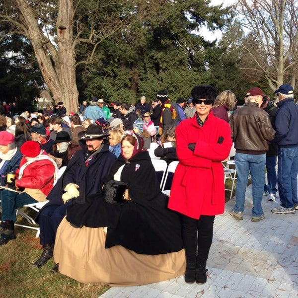 Photo taken at Gettysburg National Cemetery by John-david F. on 11/19/2013