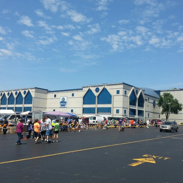 Photo taken at Allstate Arena by Javier C. on 6/30/2013