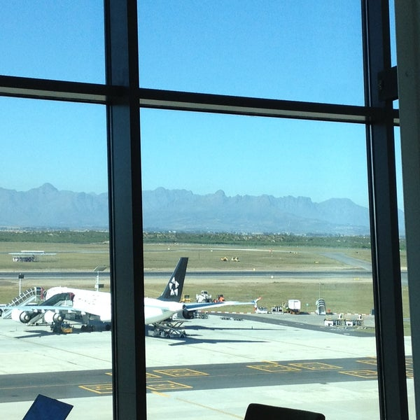 Photo taken at SAA Business Lounge Cape Town by Craig C. on 4/13/2013