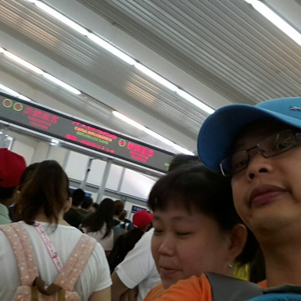 Photo taken at Taipa Ferry Terminal | Terminal Marítimo de Passageiros da Taipa | 氹仔客運碼頭 by Suharni S. on 8/11/2013