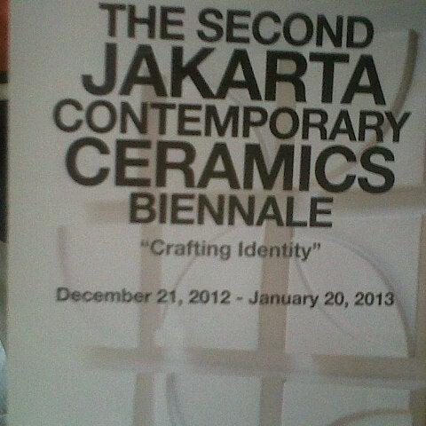 Photo taken at Museum Seni Rupa dan Keramik by Karin P. on 12/30/2012