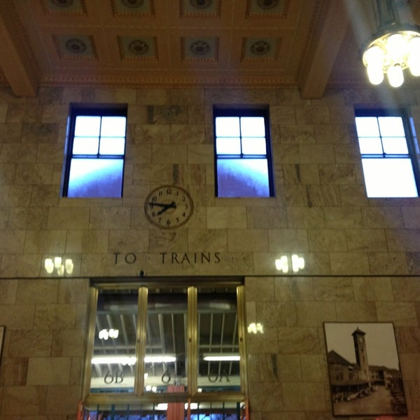 Photo taken at Union Station Amtrak (PDX) by Ben D. on 12/24/2012