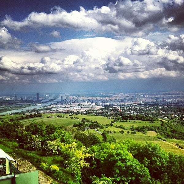 Photo taken at Kahlenberg by Sergiu L. on 5/28/2013
