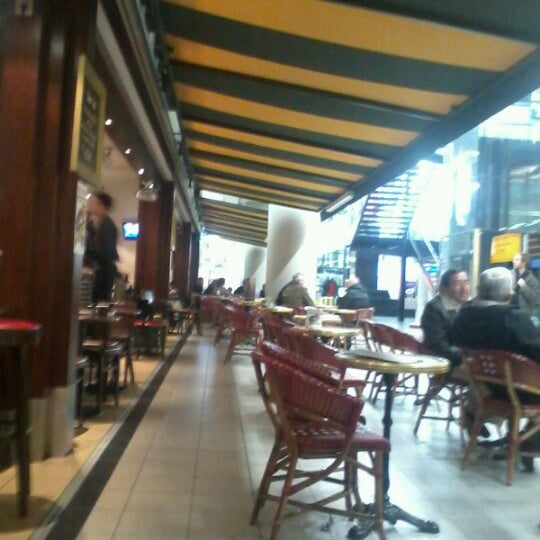 Photo taken at Grand Café Plaza by Martin d. on 2/10/2013